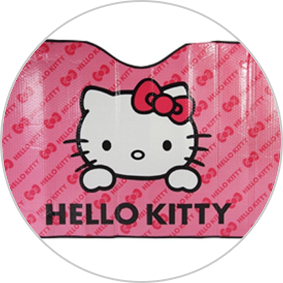 Parasoles de coche originales - Hello Kitty