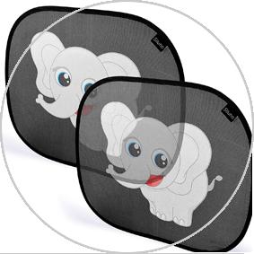 Paraoles de ventanilla infantiles de elefante