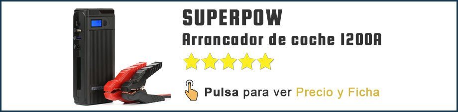 Arrancador de coches SUPERPOW