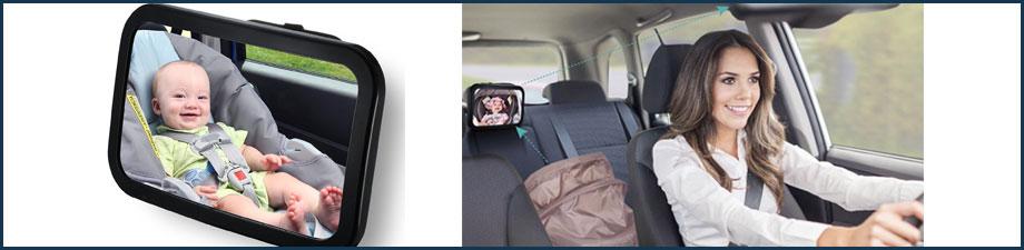 Retrovisor para vigilar al bebé