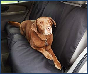 Protector de asiento para perros Amazon Basics
